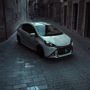 """Toyota Prius Aqua """"Drift"""""""